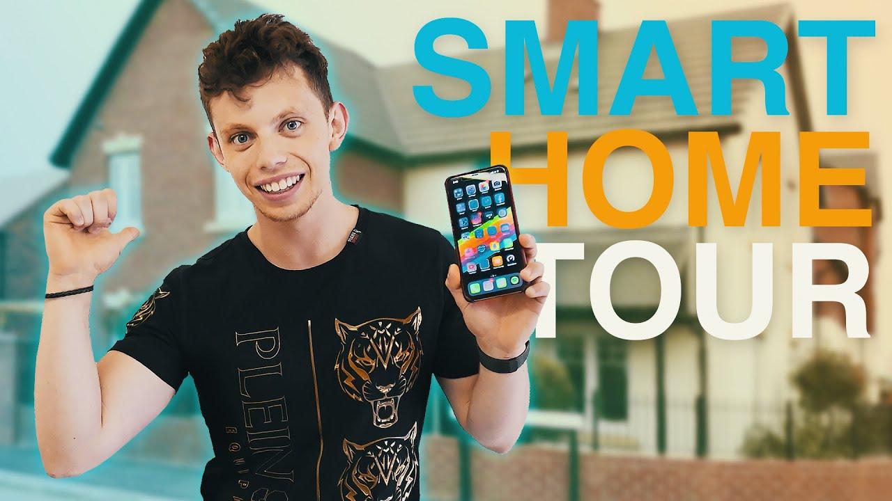 The BEST DIY Smart Home Tech – Full House Tour 2019