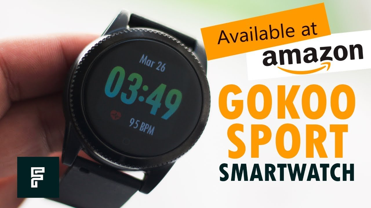 Smart Watch for Men GOKOO Sports Smartwatch Unboxing and Hands-on