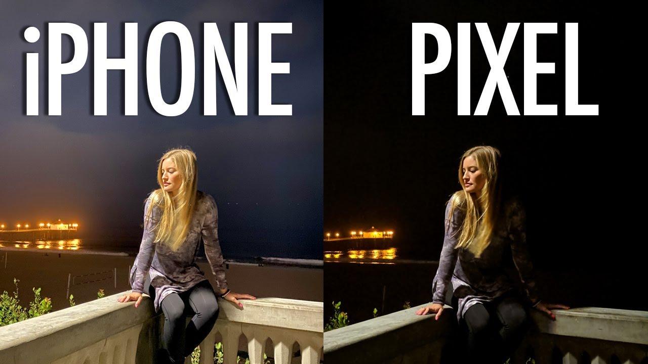 Night Mode iPhone 11 Pro Max vs Pixel 3a XL