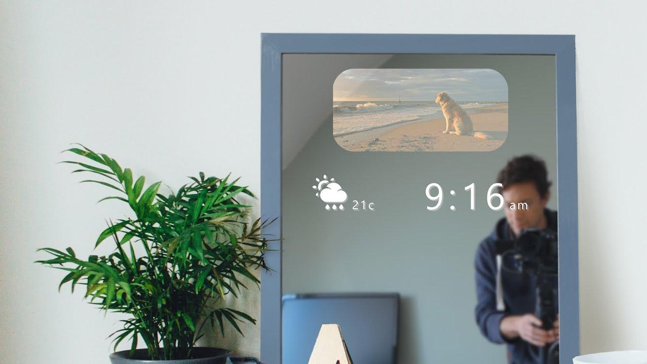 DIY Smart Mirror that doesnt steam up