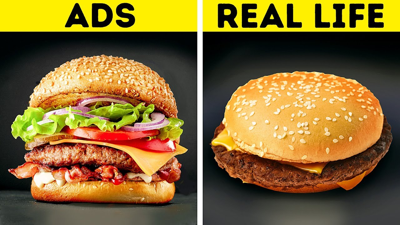 19 TRICKS ADVERTISERS USE TO MAKE FOOD LOOK DELICIOUS