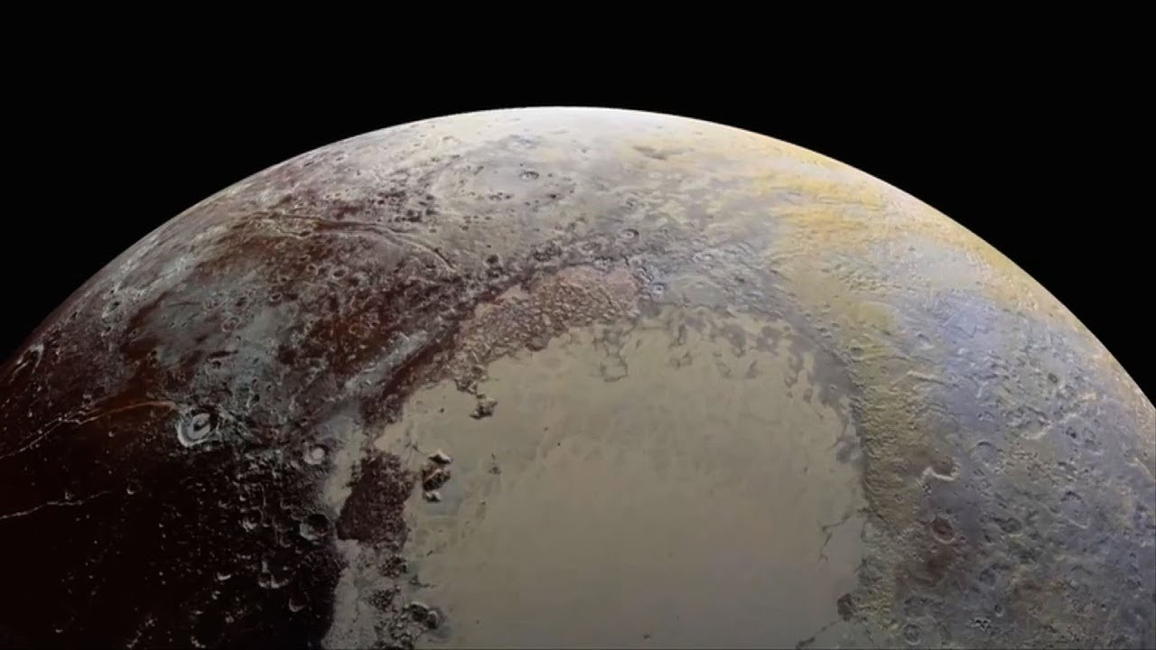 What did New Horizons interplanetary ship see on approach to Pluto