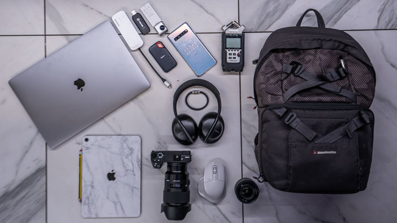 Whats in my Tech Bag – My Everyday Carry 2020 QA