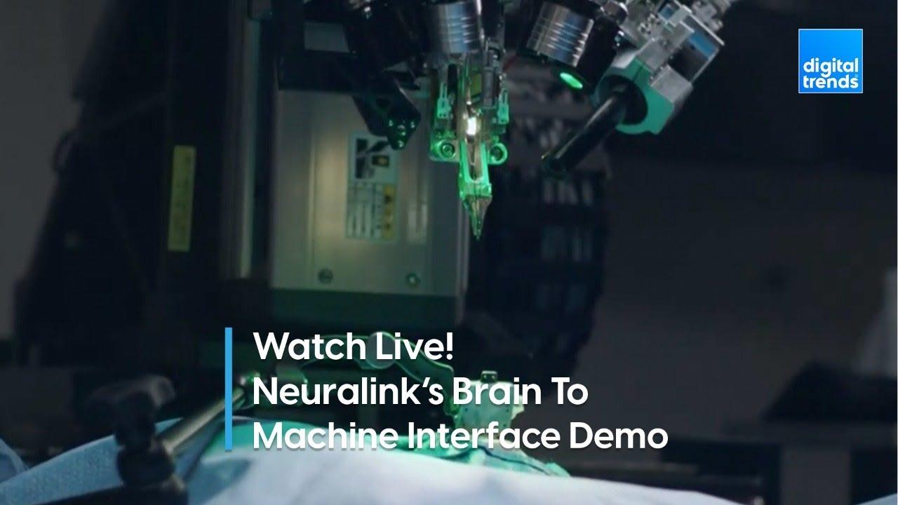 Watch Live Elon Musks Neuralink Demonstrates Its Brain To Machine Interface