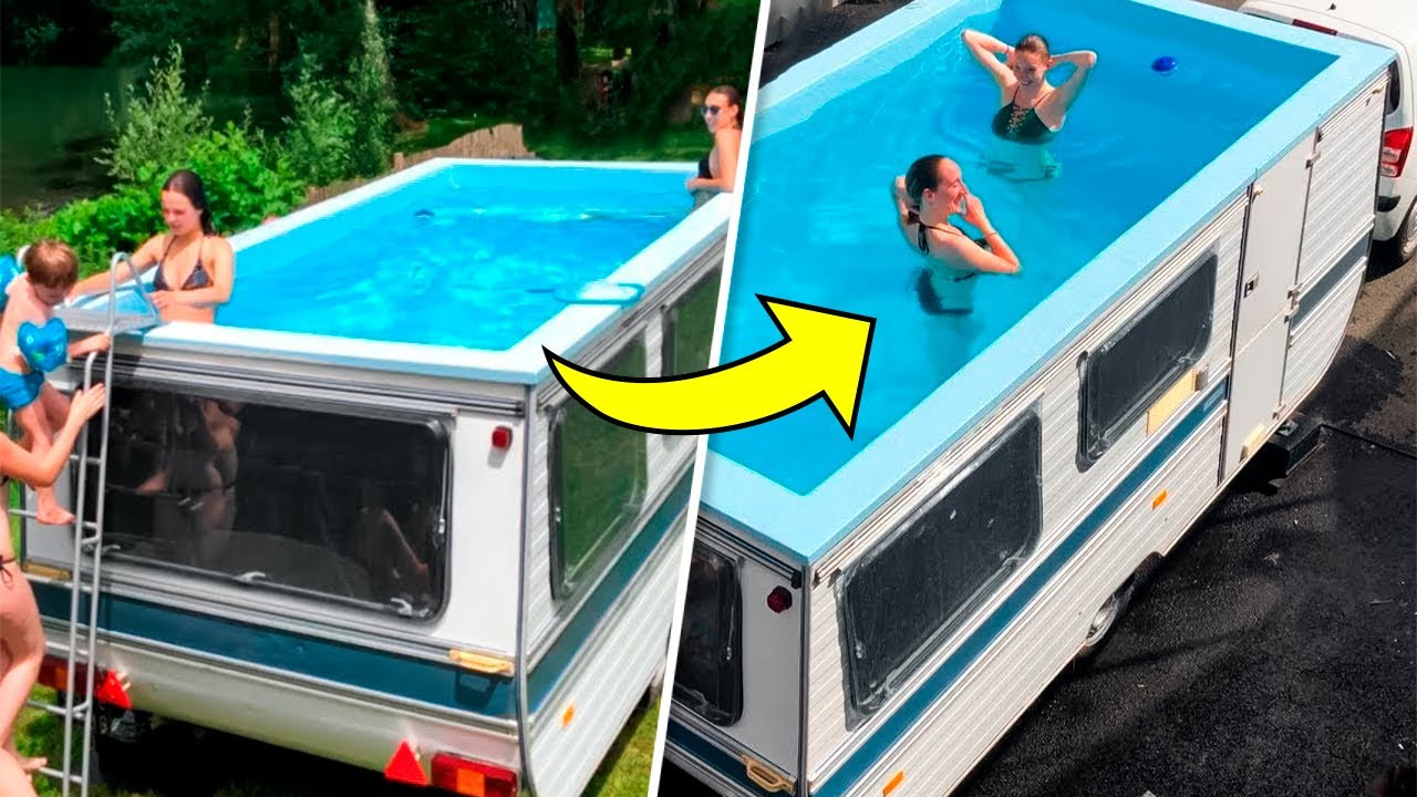 7 AMAZING VEHICLES WITH WHICH YOUR VACATION WILL NEVER END