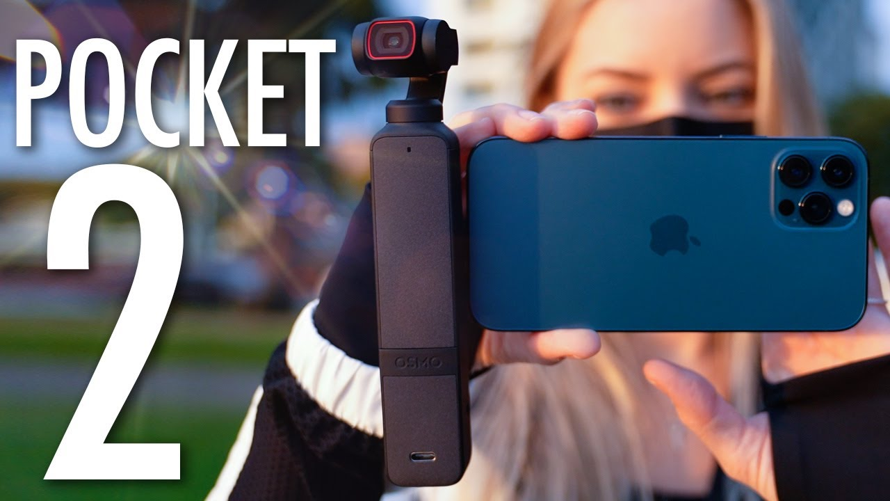 DJI Pocket 2 Unboxing and video test