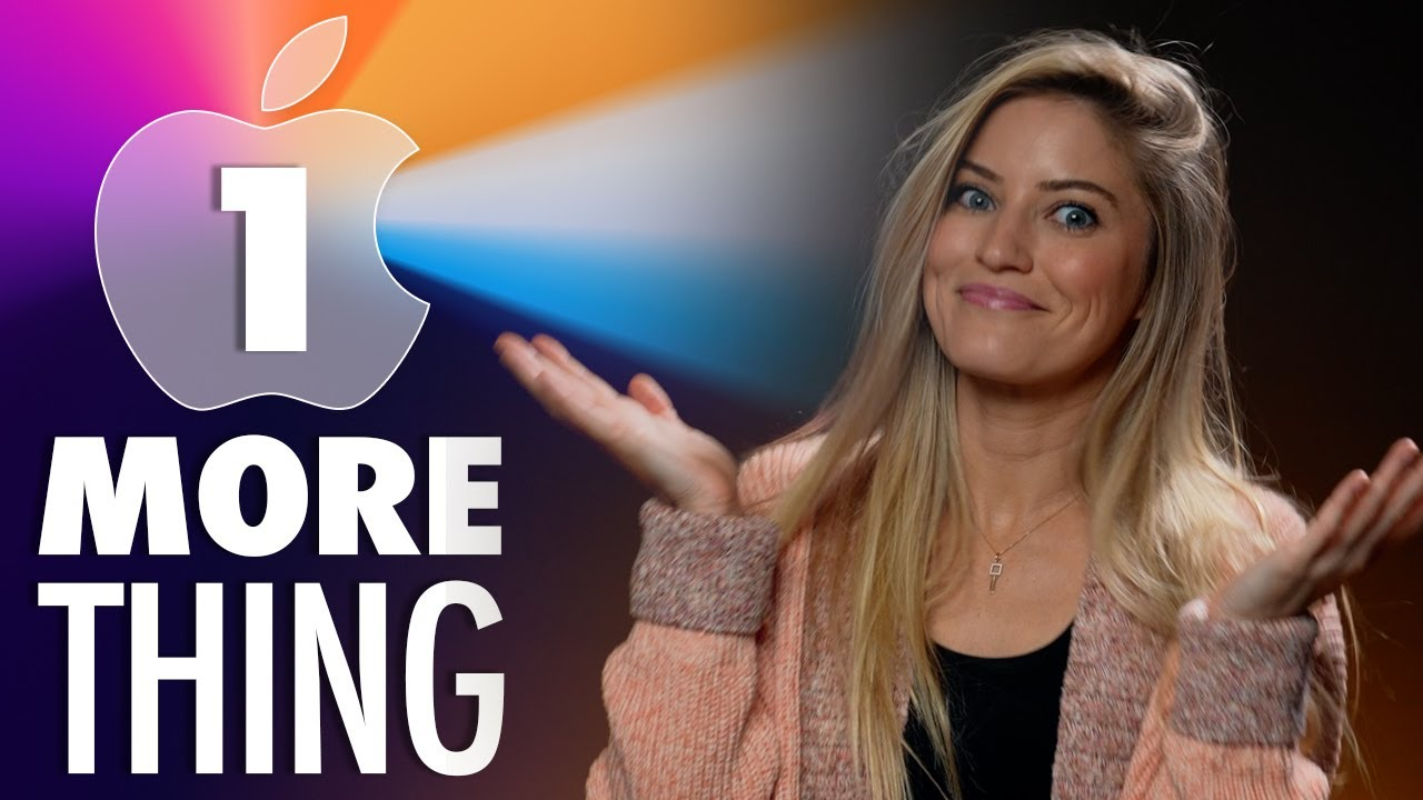 Apples One More Thing Event – What to expect