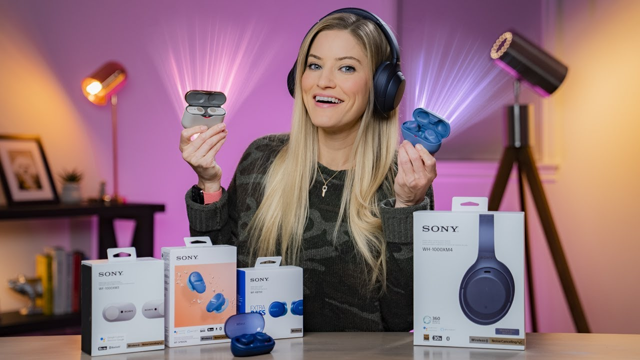 Sony Headphones Haul