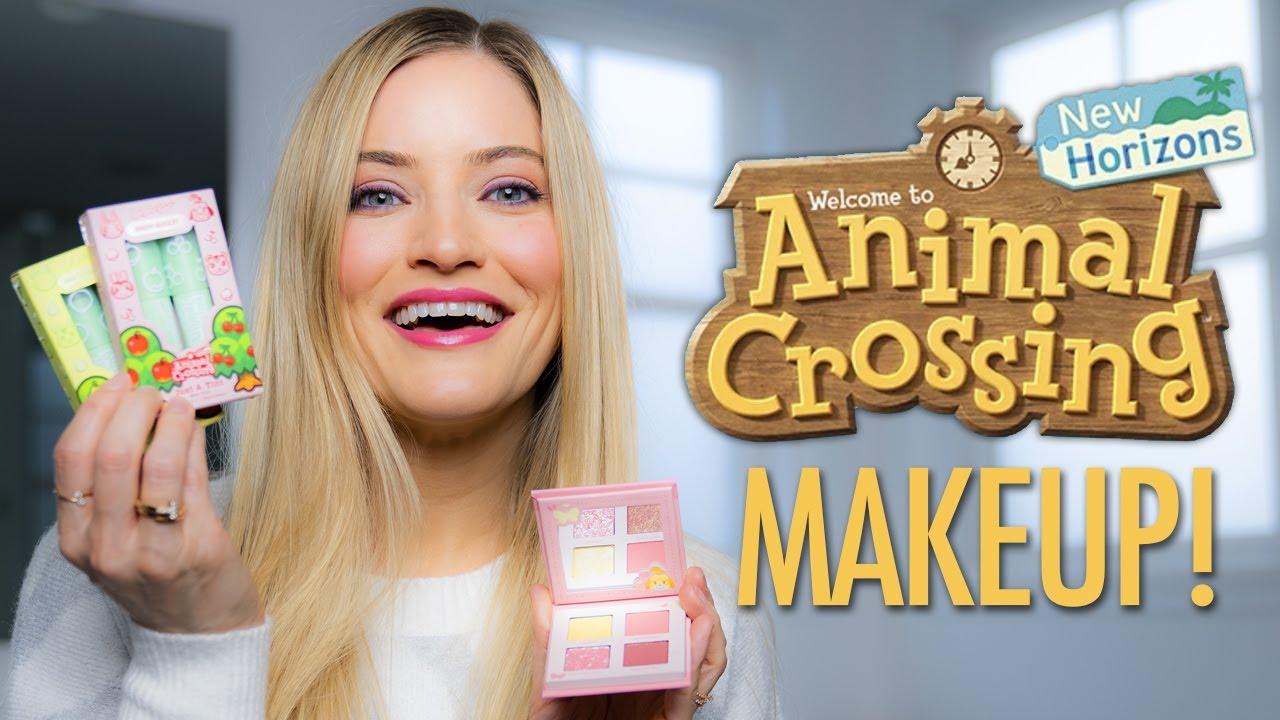 Animal Crossing Makeup Haul