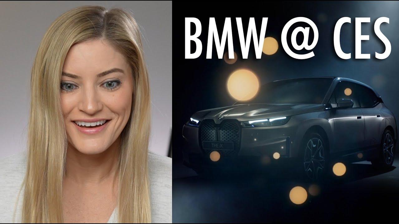 Meet the BMW iX Virtual Assistant Its the Future Calling
