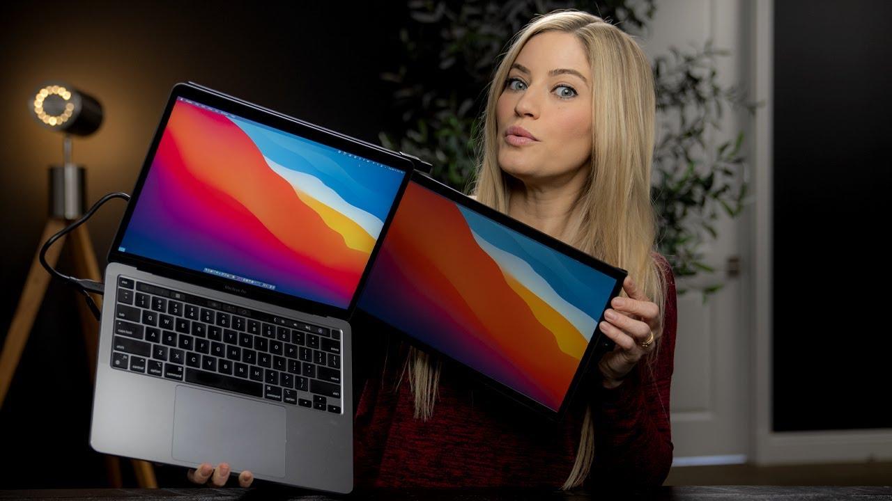 Dual-Screen Laptop Monitors Mobile Pixels DUEX Lite DUEX Plus Review