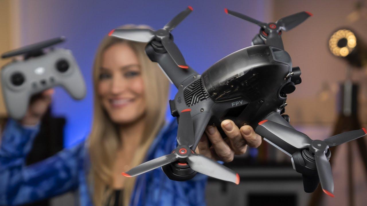 DJIs new FPV Drone
