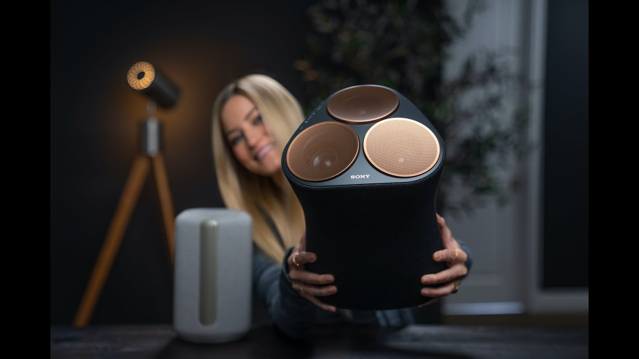 New Wi-Fi Enabled 360 Reality Audio Speakers Unboxing Sony SRS-RA5000 and Sony SRS-RA3000