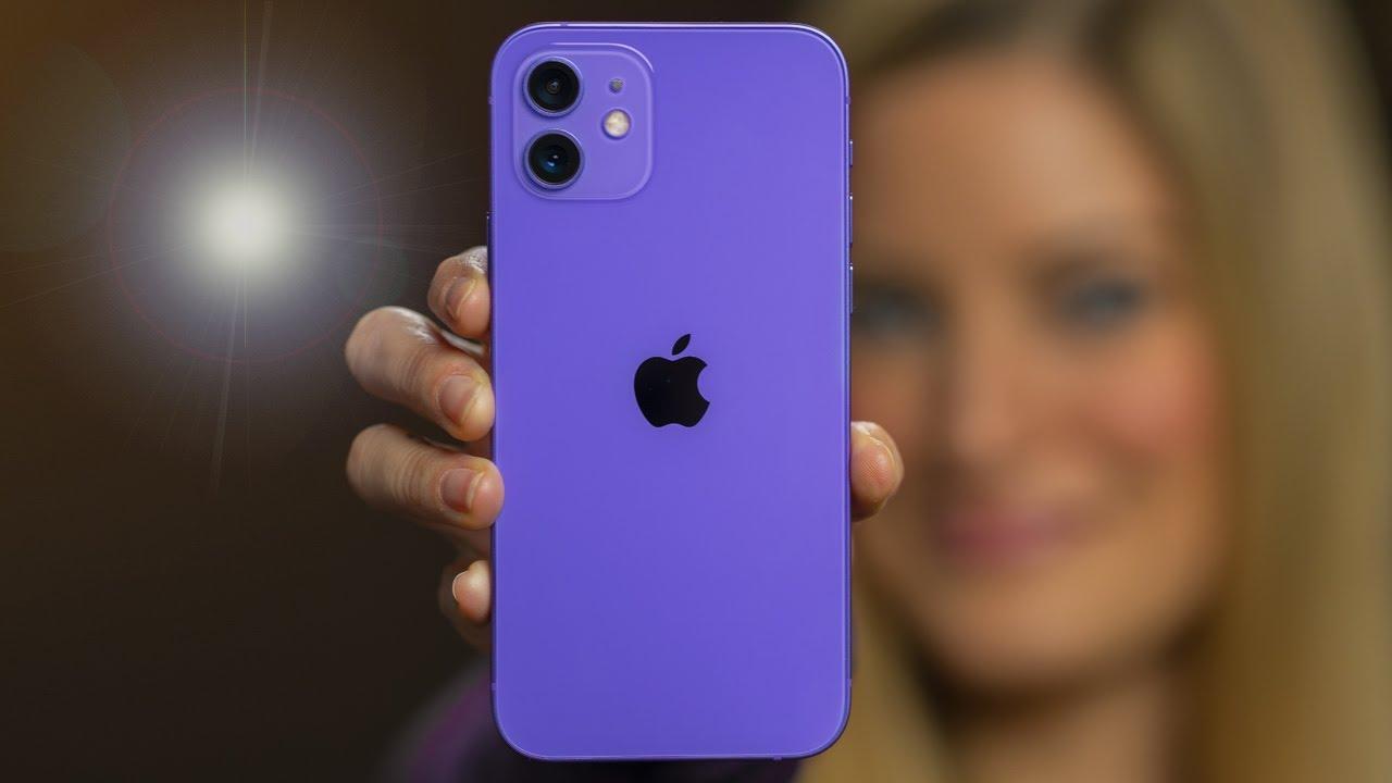 New Purple iPhone 12