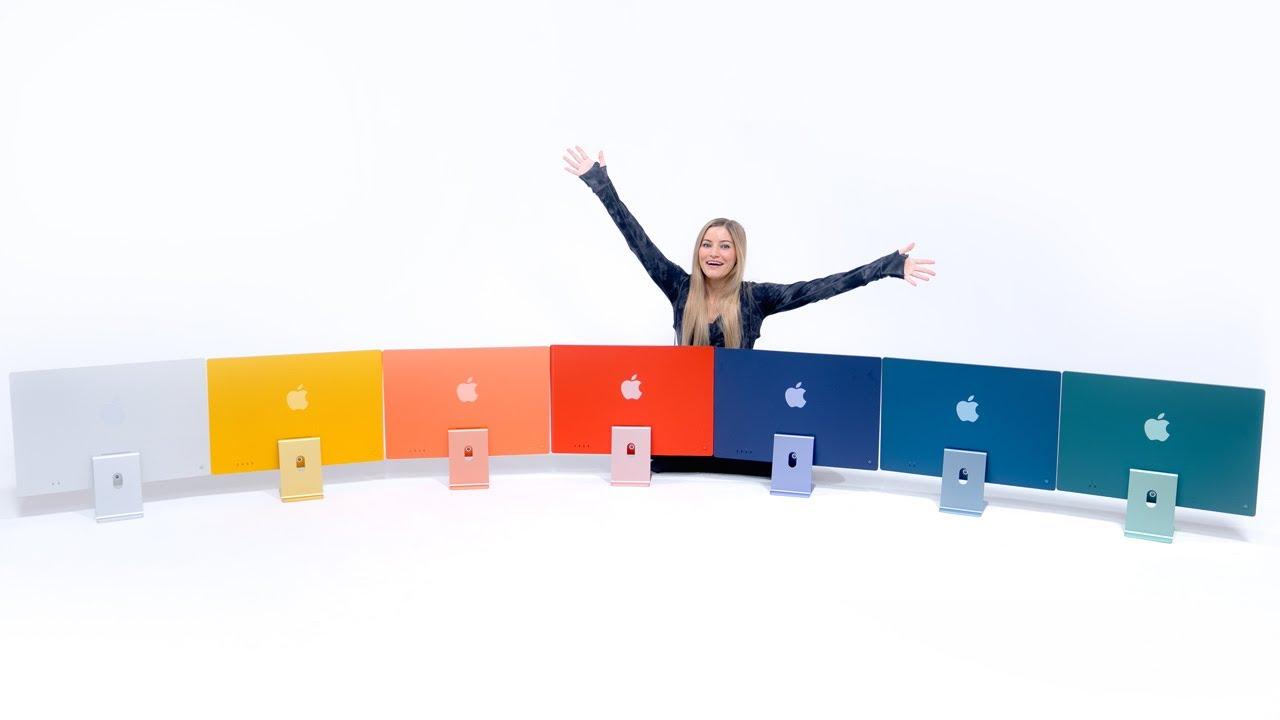 Unboxing ALL 7 M1 iMac Colors