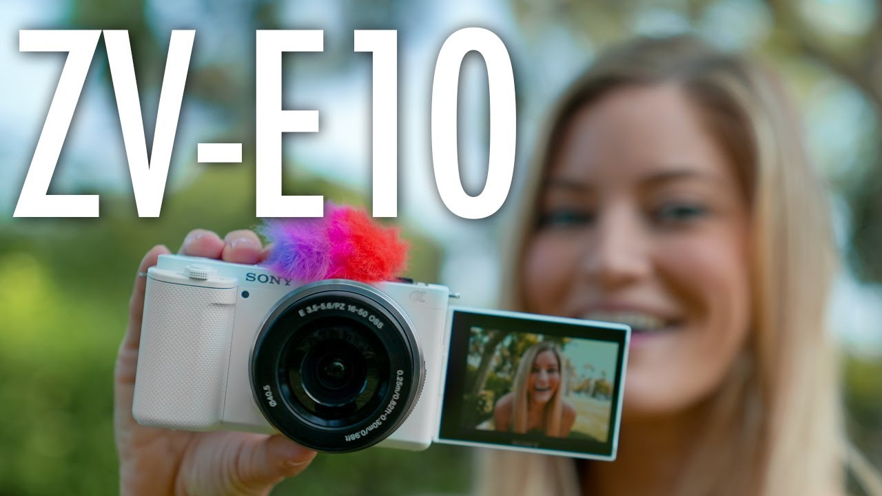 New Sony ZV-E10 Camera