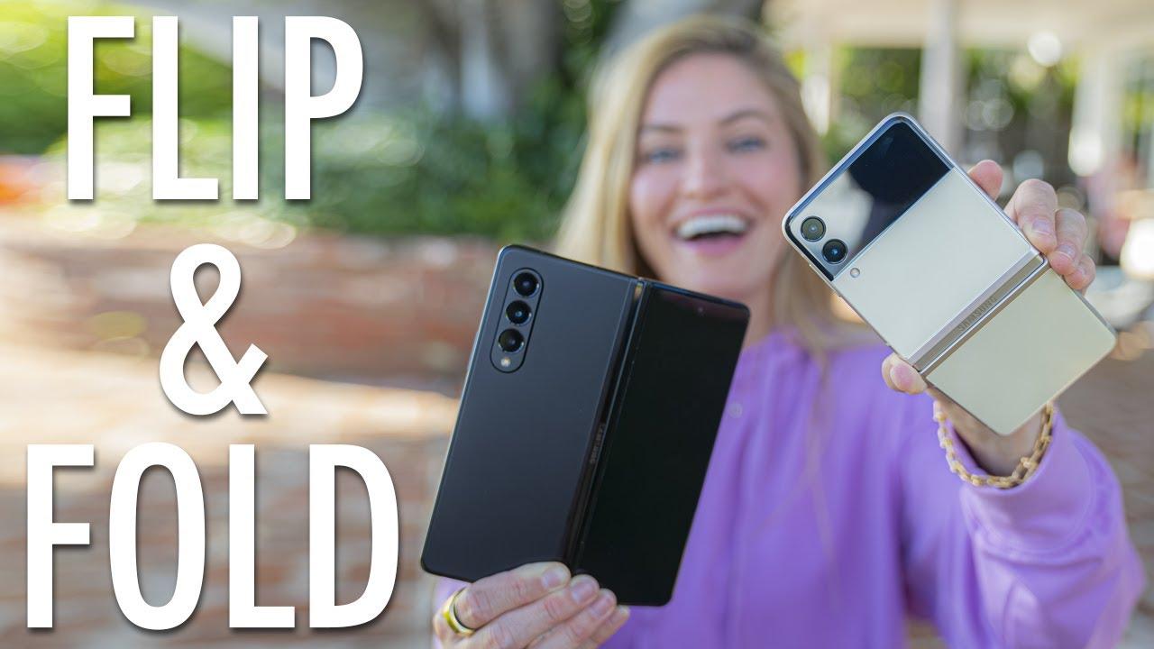 Samsung Galaxy Z-Flip and Z-Fold 3