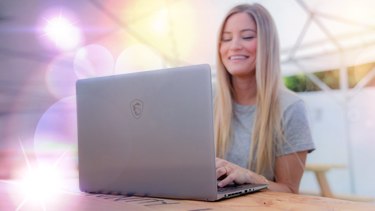 MSI Creator Z16 Laptop Showcase